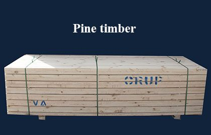 Timber for export